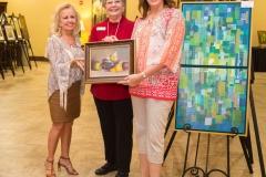 Naomi-Stevens-Margo-Green-awarding-Kim-Sinistore-Art-Patron-Award-2017