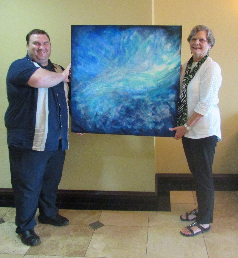 Holiday Inn Express and Suites Hosted Artist For July