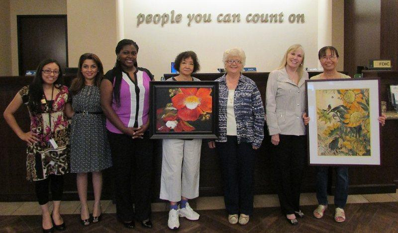 Heritage Bank Hosted Pearland Arts League Artists