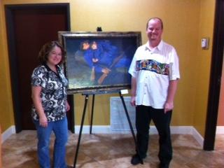 October Art Exhibit at Comfort Suites on Miller Ranch Road